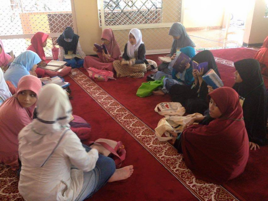 Pesantren Kilat (Sanlat) PC. IPM Cileungsi Bekerjasama dengan DKM Masjid As-Salam Perum. Metland Transyogi (2)