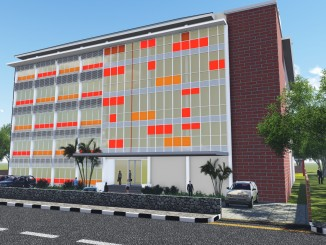 Gedung SMK Muhammadiyah 4 Cileungsi