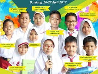 Peserta OLIQ 2017 SD Muhammadiyah 1 Cileungsi