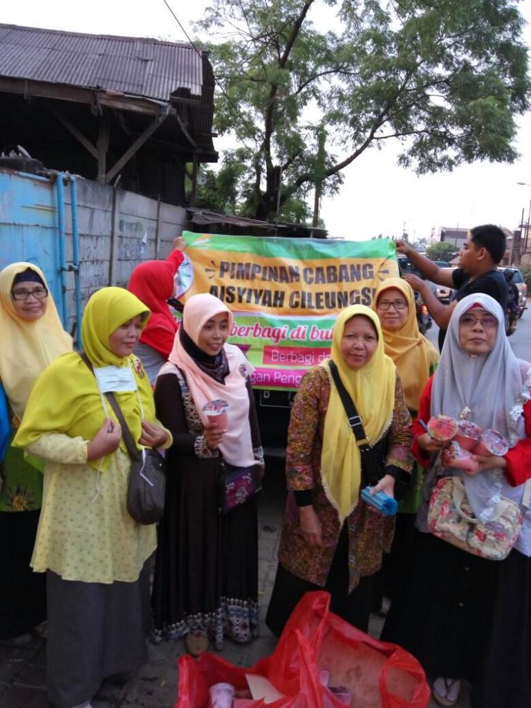Aisyiyah Cileungsi berbagi Sembako Ramadhan (9)