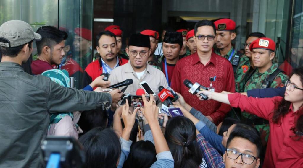 KOKAM Bogor kawal Ketum PP PM ke KPK (1)