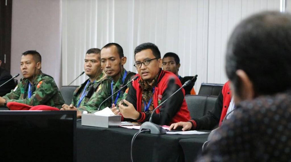 KOKAM Bogor kawal Ketum PP PM ke KPK (3)