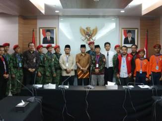 KOKAM Bogor kawal Ketum PP PM ke KPK (4)