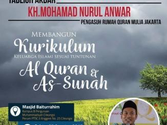 Poster Kajian Muhammadiyah Cileungsi
