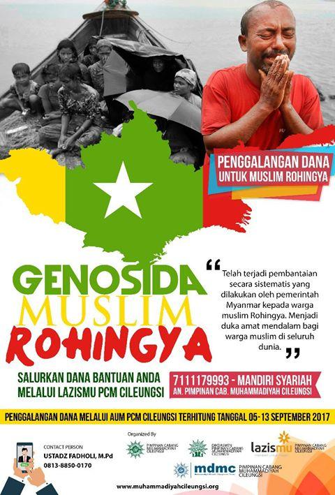 Poster Rohingya