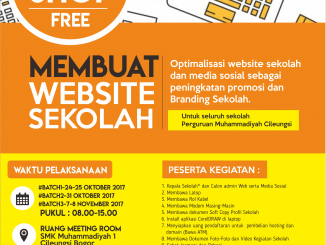 Poster Workshop Membuat Website