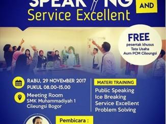 Poster acara Public Speaking