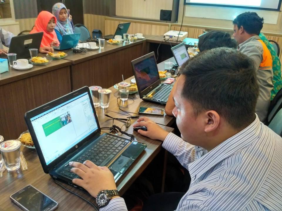 Workshop Pembuatan website Muhammadiyah Cileungsi